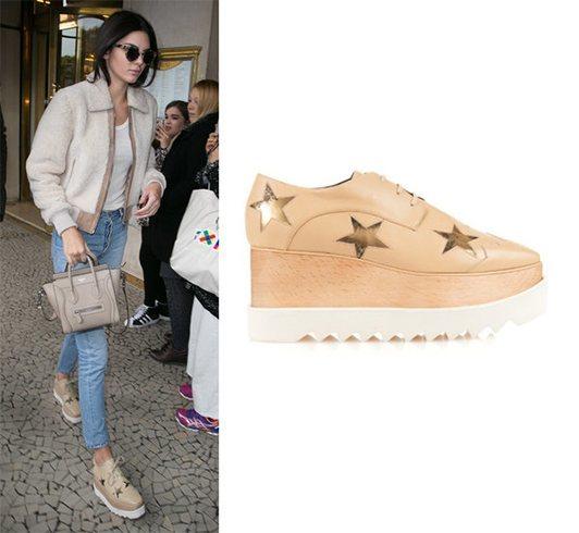 Kendall Jenner in Stella McCartney