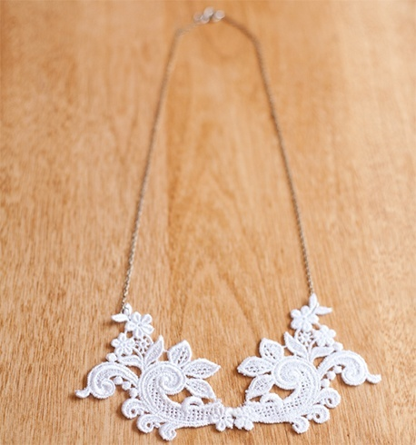 Lace Necklace Designs