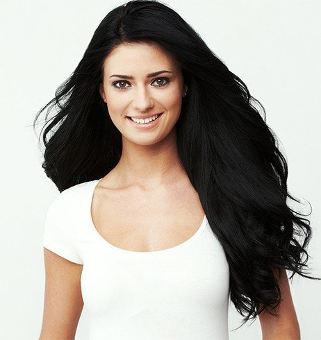 Natural black hair dye