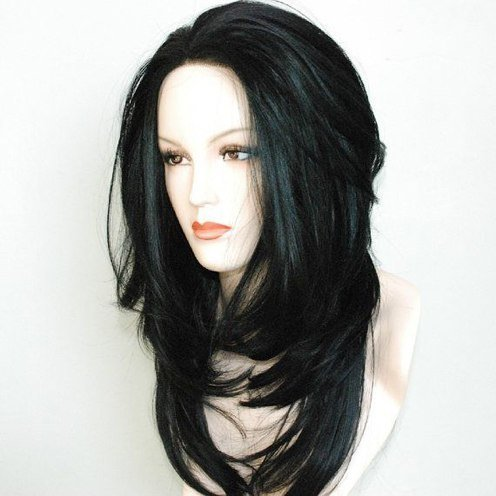 8A Virgin Brazillian Full Lace Front Wig Human Hair Full
