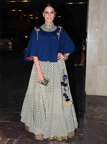 Neha Dupia at Masaba Gupta Wedding Reception