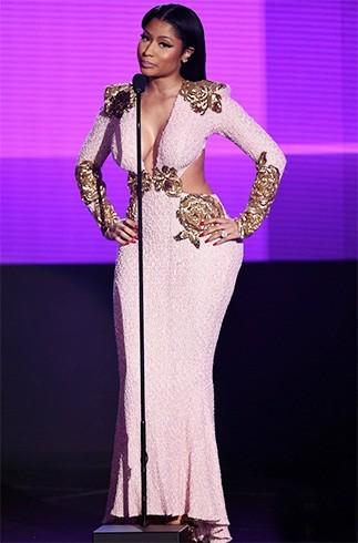 Nicki Minaj at AMA 2015