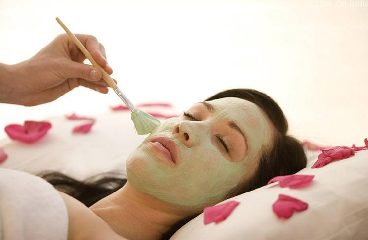 Night face pack for oily skin