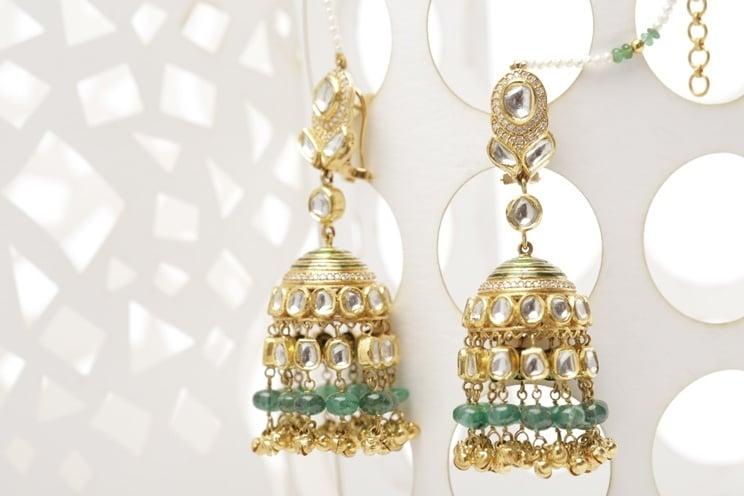 rajputi jewellery pattern