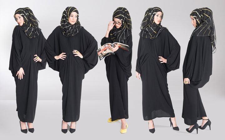 Saudi Burqa Design