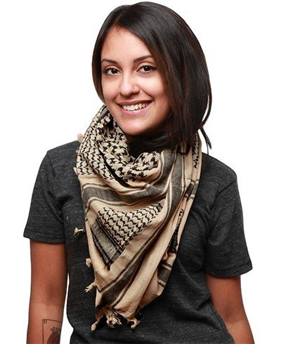Fashion week Wear how to shemagh scarf for woman