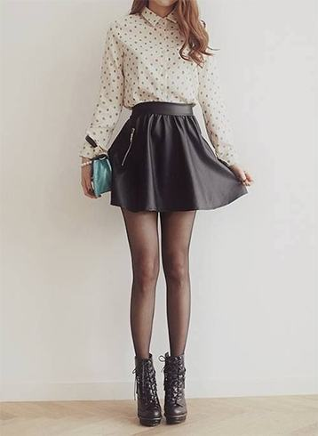 Skater skirt for office