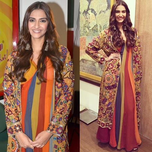 Sonam Kapoor in Abu Jani and Sandeep Khosla