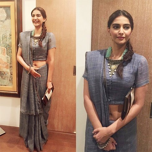 Sonam Kapoor in Anavila outfits