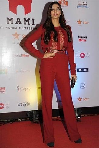 Sonam Kapoor in Boss Lady suit