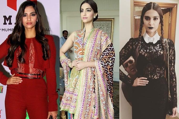 Sonam Kapoor Weekend outfits