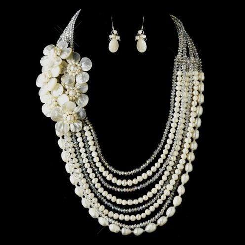 swarovski bridal jewelry set