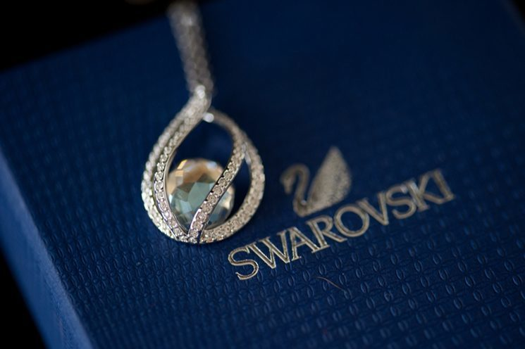 swarovski weddingnecklace