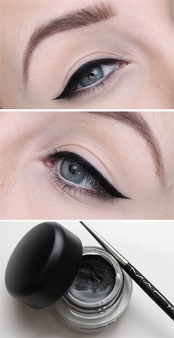 Top gel liners used
