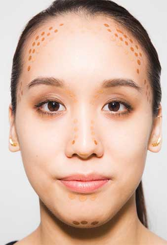 tricks to beauty your round face