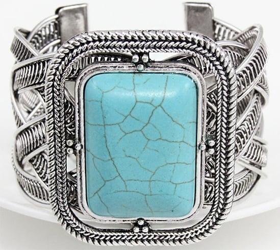 Turquoise gypsy bracelet
