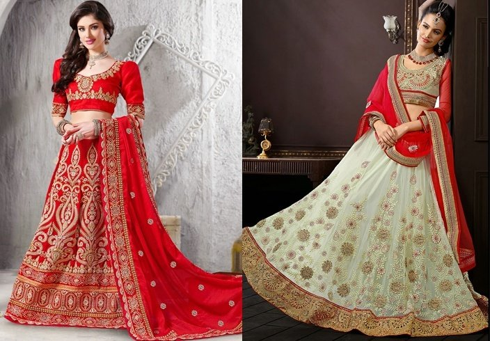 Wedding lehengas for winter