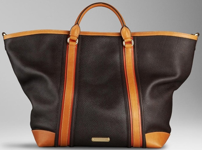 weekender leather bag