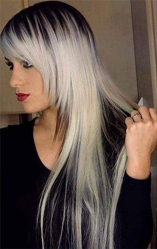 White and Black Hairstyles