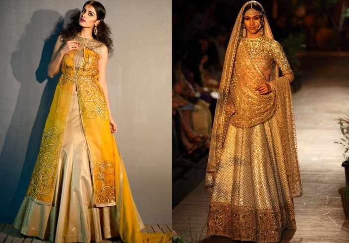 Winter wedding lehengas