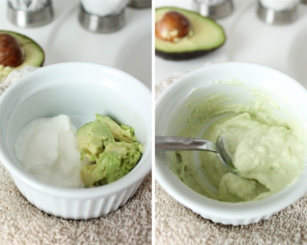Yogurt Face Mask for Dry