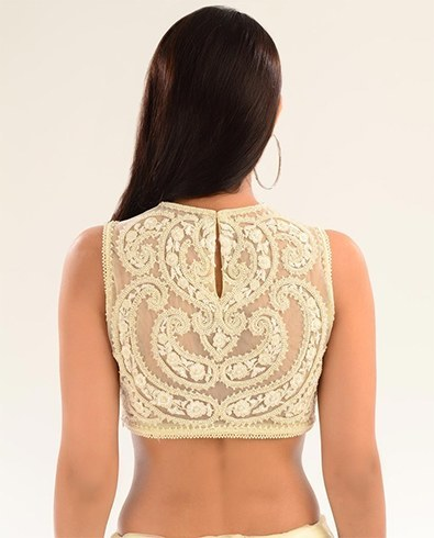Zardozi embroidered blouses