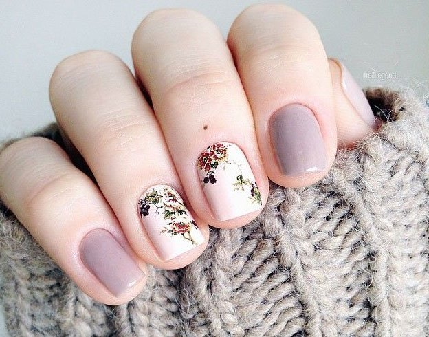 Beautiful Fall Nail Designs