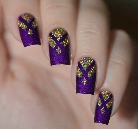 Golden Nails - News - 130 Beautiful Nail Art Designs Just For You – Hello  Pretty Nails (part 2)