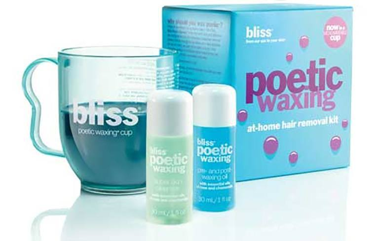 Bliss Poetic Waxing At Home Hair Removal Kit