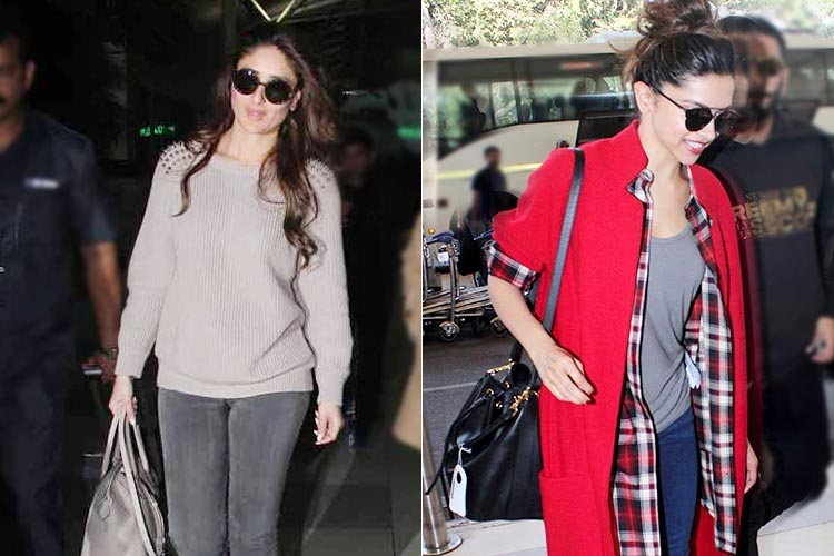 Celebrity Airport Style 2015 December Looks Are Drool Worthy