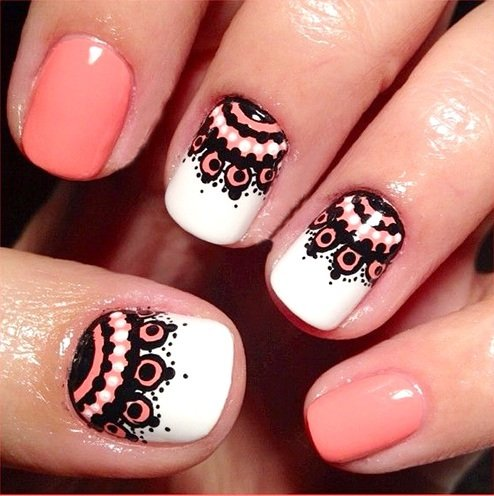130 beautiful nail art designs just for you cute nail art designs prinsesfo Choice Image