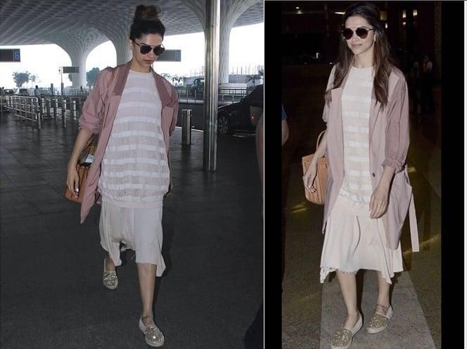 Deepika Padukone Airport Style