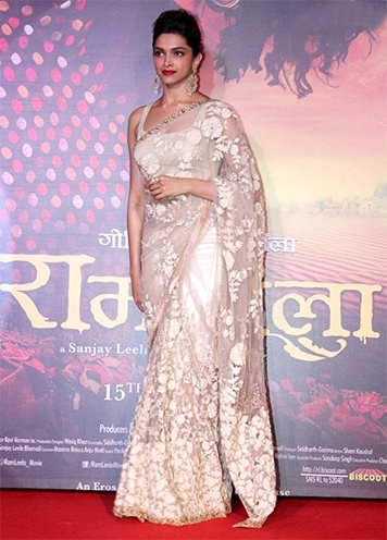 Deepika Padukone at Ram Leela Promotions