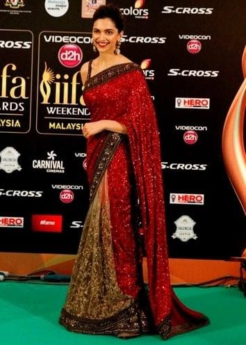 Deepika Padukone at the IIFA Awards 2015