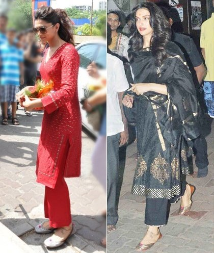 Deepika Padukone at the Siddhivinayak Temple