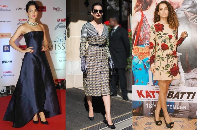 Kangana Ranaut in Dior