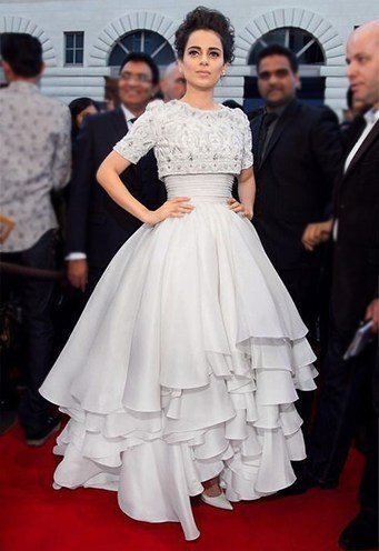 Kangana Ranaut in Ralph and Russo Couture