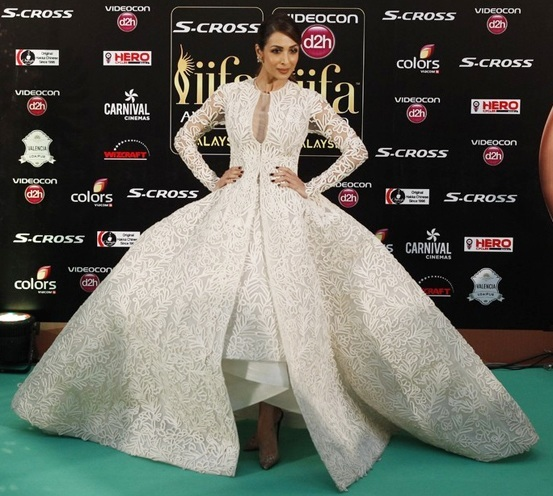 Malaika Arora Khan dress at IIFA Awards 2015