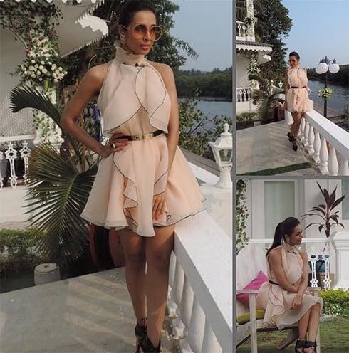 Malaika Arora Khan in Gauri and Nainika dress