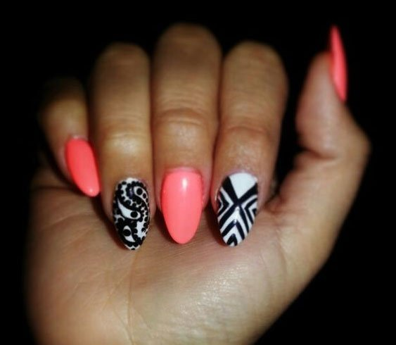 Nail Art Design For Oval Shaped Nails