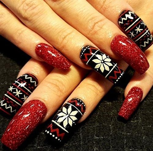 Pretty Nail Art Designs: 130 Easy And Beautiful Nail Art Designs 2018 Just For You