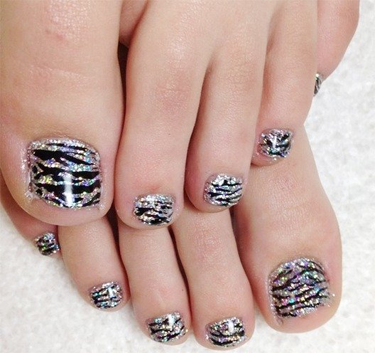 Easy Toe Nail Art Designs: 35 Easy Toe Nail Designs That Are Totally Worth Your Time