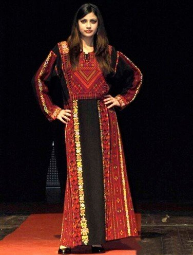 Palestinian traditional dresses for womens
