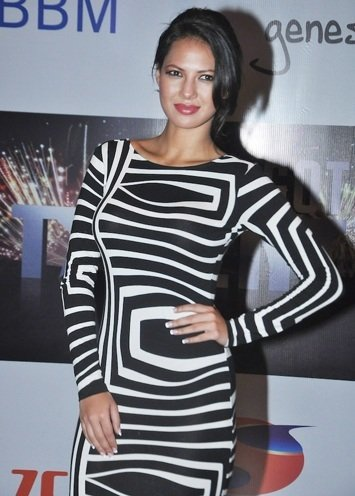 Rochelle rao during fashion show