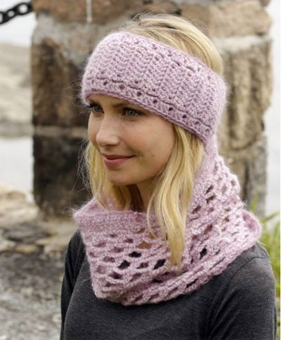 Scarf with head band