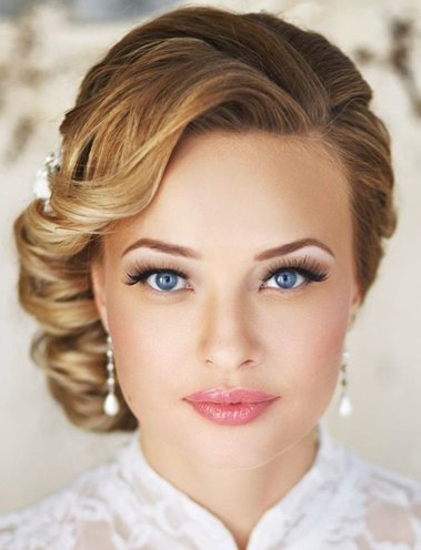 Short Wedding Hairstyles for womens