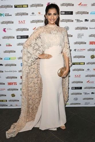 Sonam Kapoor at Indian Film Festival in Melbourne