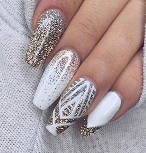 Stiletto nail designs for women