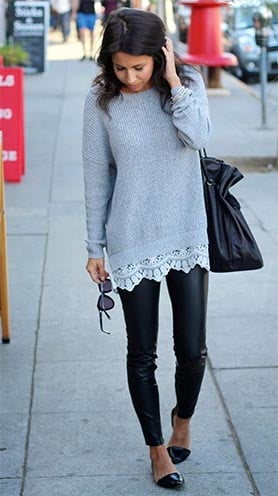 Sweaters To Wear With Legging