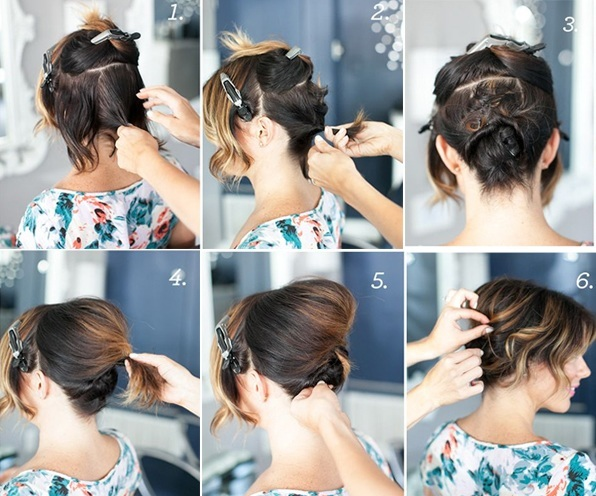 Hair Styles For Short Hair Brides: Wedding Hairstyles For Short Hair Brides Tying The Knot